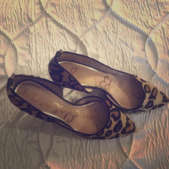 Sam Edelman Shoes - Sam Edelman Leopard Pumps Sz 8.5